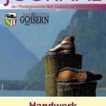 Goiserer Journal<span>Handwerk in die Zukunft tragen!</span>