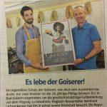 OÖ Nachrichten - Gästebuch<span>Es lebe der Goiserer! </span>